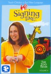 Signing Time Volume 9: The Zoo Train