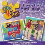 Dos y Dos: Moviendose Temporada 1- Vol. 2 (CD)
