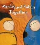 Monkey and Rabbit Together (Illustrated)